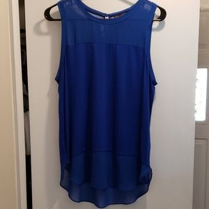 Vince Camuto Sleeveless Blouse, Size Med.